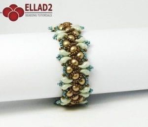 Kralen Tutorial Wave Armband Ellad2